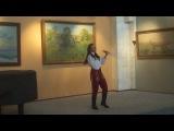 вращение шашек обеими руками девушкой - амазонкой из Иркутска (запись Александра Правдюк)