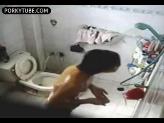 chinese boy caught masturbating